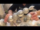Новогодний декор своими руками! Свечи из елочных игрушек!)