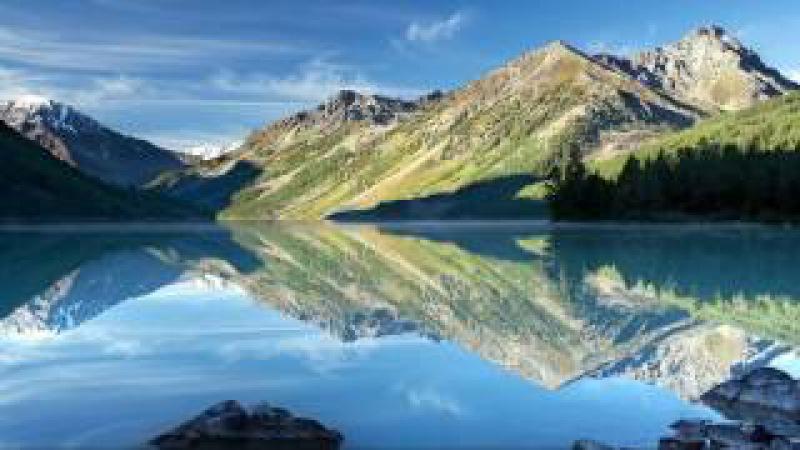 Медитация Мантра Аум Природа Горного Алтая