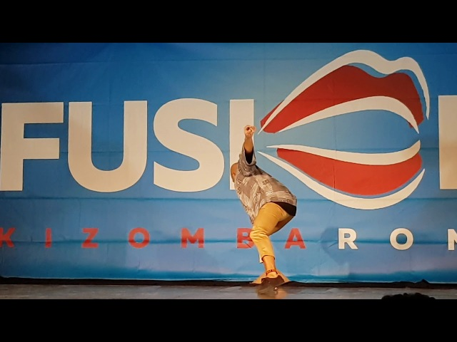 Albir Rojas, Show @ Fusion Kizomba Roma 2018