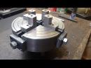 Изготовление токарного патрона четырёх 4 х кулачкового Construção de Placa de 4 castanhas