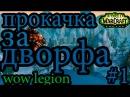 ПРОКАЧКА ЗА ДВОРФА/ 1/ WOW LEGION (Firestorm)