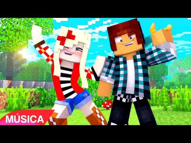 Minecraft Música ♫ - SIM, EU VOU !!   Minecraft Song ♪ Feat. Brancoala (Minecraft Animation)