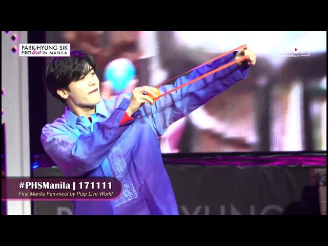 [FEATURED] Park Hyung Sik's First Love in Manila!