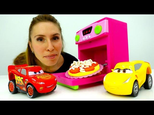🍕Nuovi episodi e nuove ricette-Giochi per bambini con PlayDoh pizza🍕e cars-🍕Cucina italiana 🍝