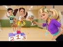 Школьные Соревнования по Гимнастике Мультик Барби Школа Играем в Куклы