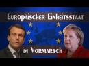 Europäischer Einheitsstaat im Vormarsch 28. September 2017 kla/11181 Medienkommentar