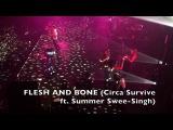 Flesh &amp Bone w Keys+Strings (Live @ Shrine 11-4-17) - Circa Survive ft. Summer Swee-Singh + LA crew