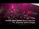 Flesh Bone w/ Keys Strings (Live @ Shrine 11-4-17) - Circa Survive ft. Summer Swee-Singh LA crew