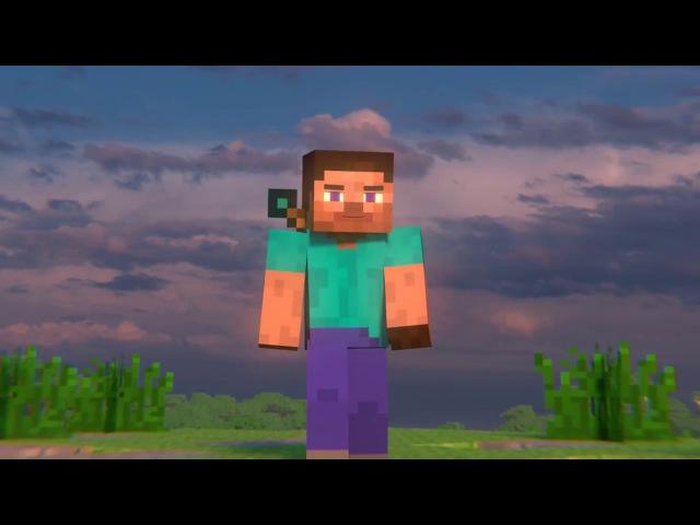 Анимация майнкрафт - Жизнь Стива