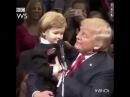 Donald Trump pergunta a um garotinho quem será o presidente do Brasil eleito em 2018