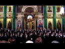 Russian hymn before 1917 in Isaac's Cathedral SaintPetersbu