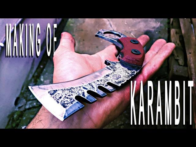 Making Of KARAMBIT Rough Style