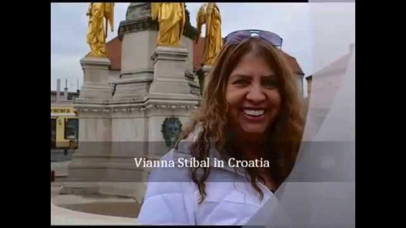 Вианна Стайбл - автор метода ТетаХилинг. Загреб 2014 г.