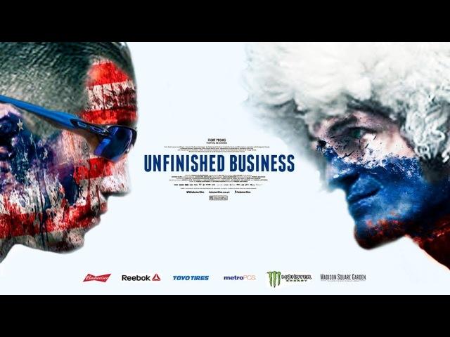 Tony Ferguson vs Khabib Nurmagomedov - Extended Promo Hезаконченное Дело | Unfinished Business (есть русские субтитры)