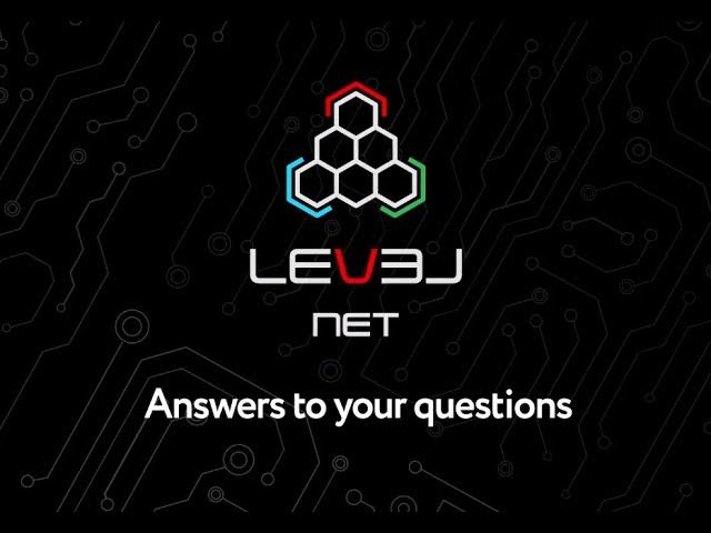 LevelNet ICO - Answering your questions