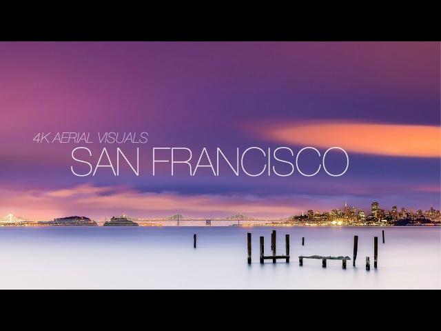 DJI Mavic Pro 4k Cinematic Footage | Aerial Visuals of San Francisco