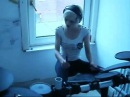 Flo Rida ft David Guetta Club Can't Handle Me Drum cover by Kayleigh Rogerson