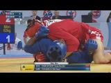 World Sambo Championships: Vyacheslav Vasilevskiy (RUS) - Tchamou Michael (CMR)