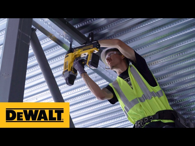 Pros React DEWALT® 20V MAX* XR® Cordless Concrete Nailer (DCN890P2)