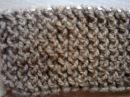 Узор резинка хлебный колосок вязание на спицах Pattern gum bread spike knitting