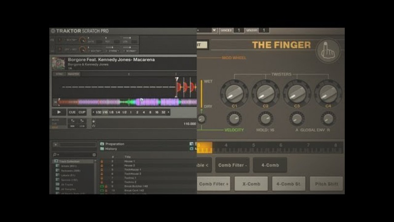 How To Use The Finger Other VSTs With Traktor
