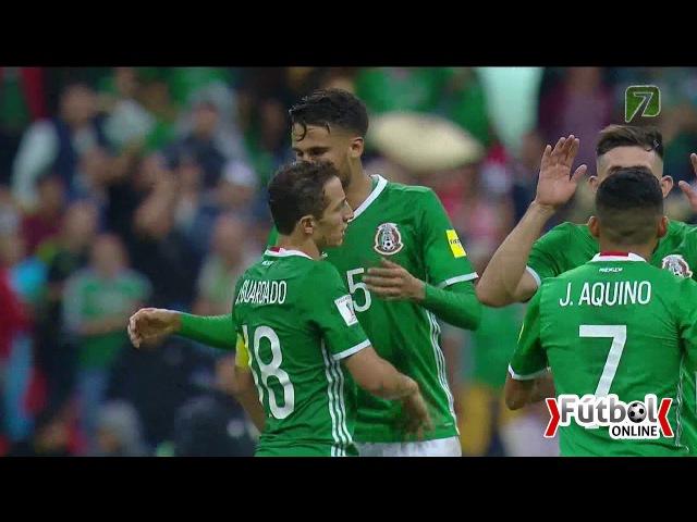 México vs Panamá 1-0 2017 Eliminatorias Rusia 2018 TV AZTECA FULL HD