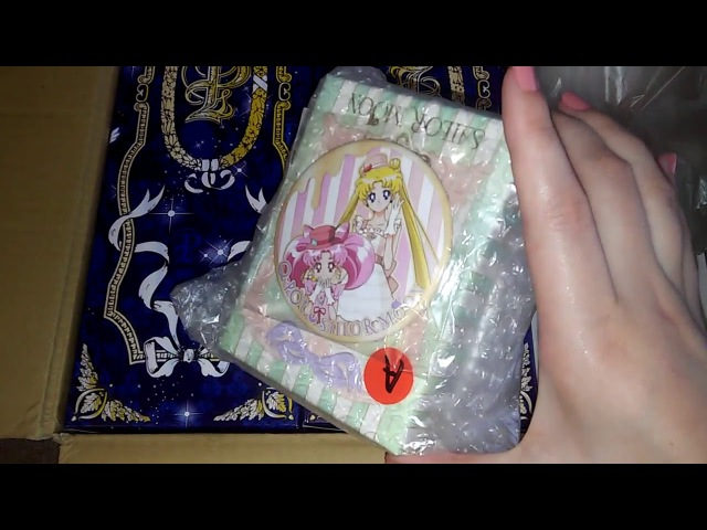 Unboxing Haul August Japan Sailor Moon Q-POT Pullip Pure Neemo Doll Clothes