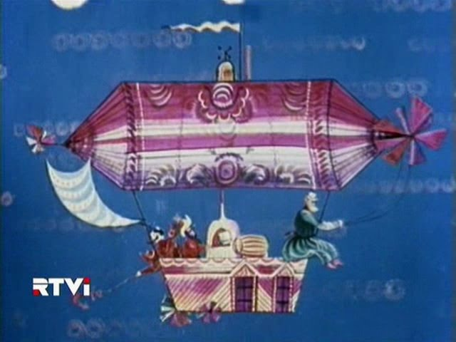 Золочёные лбы. 1971г По сказке Б.В.Шергина.