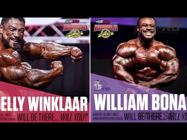 PS News 4: Рикардо Коррейя / Ронни Колеман / Hawaii Pro 2018 / Олимпия 2018 / АК Австралия 2018