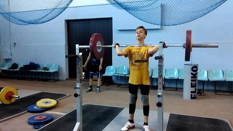 АЛЕЕВ Александр, 73 кг.толчок с груди