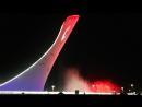 Поющие фонтаны в Олимпийском парке г.Сочи. Август 2017г