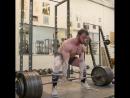 Бэн Поллак тяга 340 кг на 5 раз