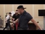 Танец перед флешмобом