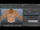 Создание динамических меха с XGen в Maya
