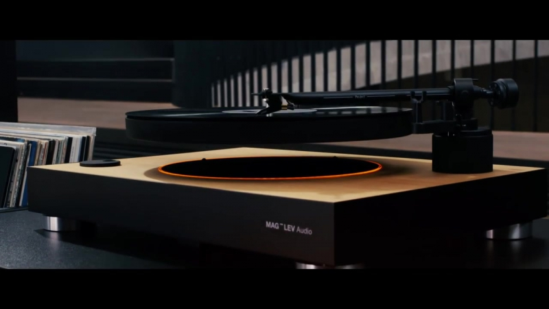 MAG LEV Audio Worlds first levitating turntable official 020p