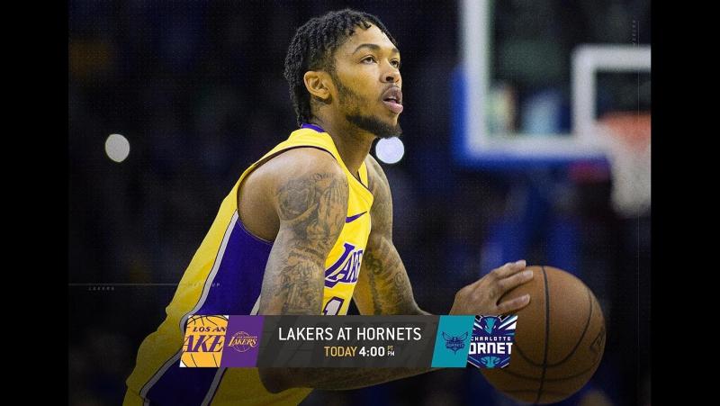 🏀NBA Los Angeles Lakers - Charlotte Hornets
