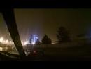 прекрасен Коченёвский НПЗ при осенней нетихой погоде