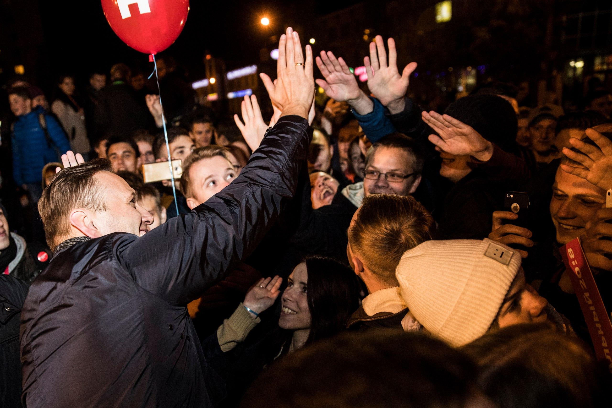 Навальный. Митинг в Архангельске. 01.10.2017