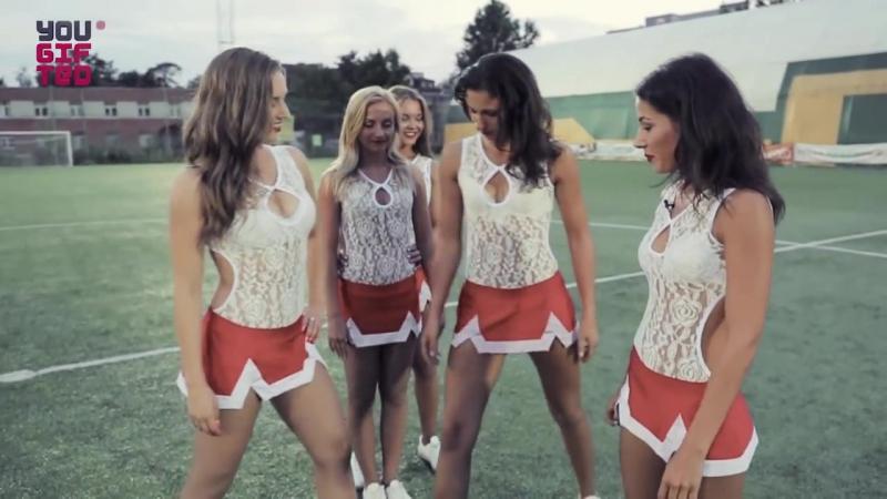 Знакомство с черлидингом Cheerleading team VERTIGO