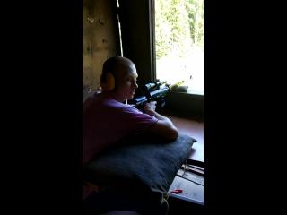 Стрельба со снайперской винтовки на 200м. СВД