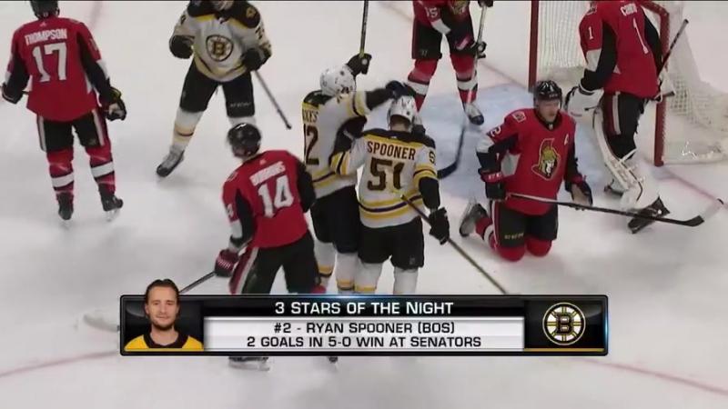 Три звезды игрового дня НХЛ 31.12.17