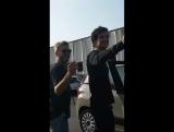 Дэниел на съёмочной площадке сериала «Медичи: Повелители Флоренции» в Риме, Италия | 7.09.17