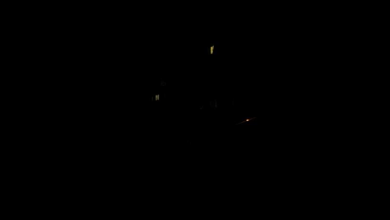 СОШ3. вторая смена. дети по темноте идут домой