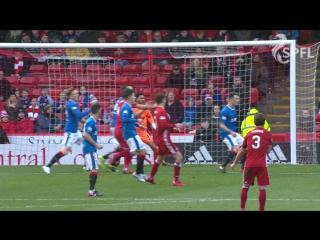 Rangers 2-1 Aberdeen
