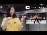 1Million dance studio You Dont Know Me - Jax Jones (ft. Raye) | Dance Tutorial