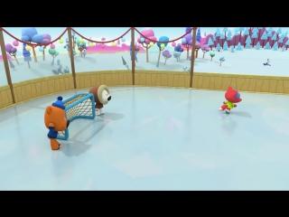 Раскраска - Ми-ми-мишки - Мишки на льду - выпуск 15