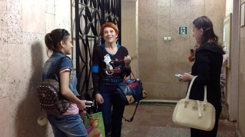 Встреча после спектакля Авантюристка или как найти мужа с актрисой Оксаной Сташенко в Рязани( 20.06.17)