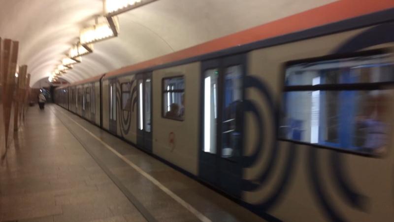Метро. Москва. U-Bahn. Moskau. 12.10.17
