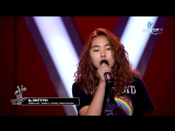 Enguun.Ts - Runnin - Blind Audition - The Voice of Mongolia 2018