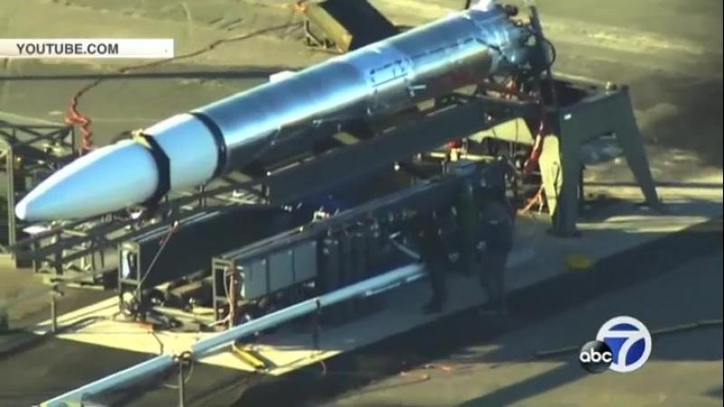 В Сети опубликовано видео с секретной американской ракетой